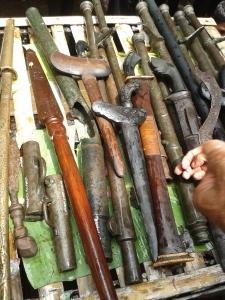 Senjata peninggalan Kerajaan Talaga