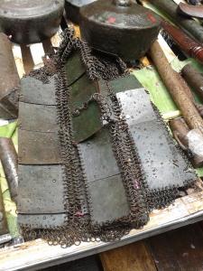Baju Perang (Zirah) peninggalan Kerajaan Talaga