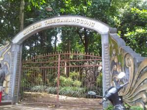 Gerbang Masuk Museum Talaga Manggung