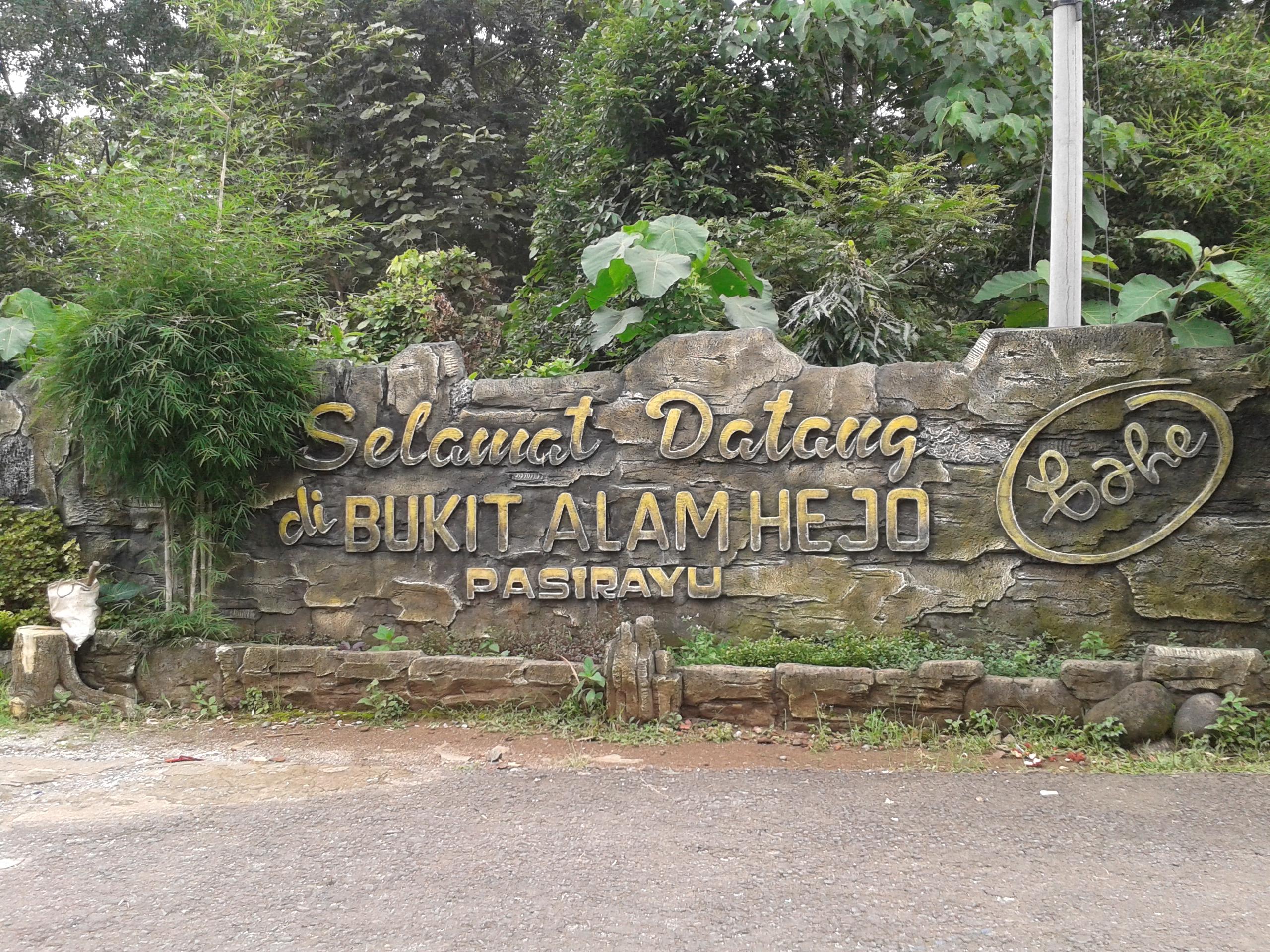 Menikmati Berbagai Wahana Di Bukit Alam Hejo Infomjlk