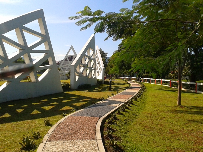 Taman Kota Bundaran Munjul Indah