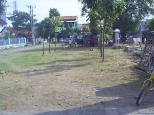 Area di Utara Alun-alun Sutawangi, bekas area Stasiun Jatiwangi.