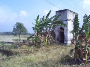 Bekas Tower Pengisian Air Untuk Lokomotof di Daerah Palasah