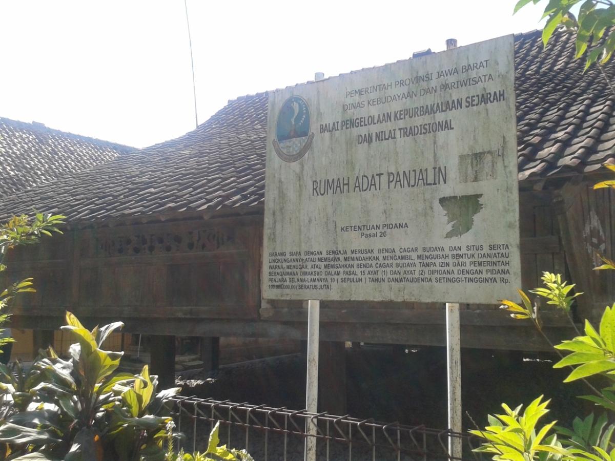 Rumah Adat Panjalin, Rumah Adat dari Majalengka