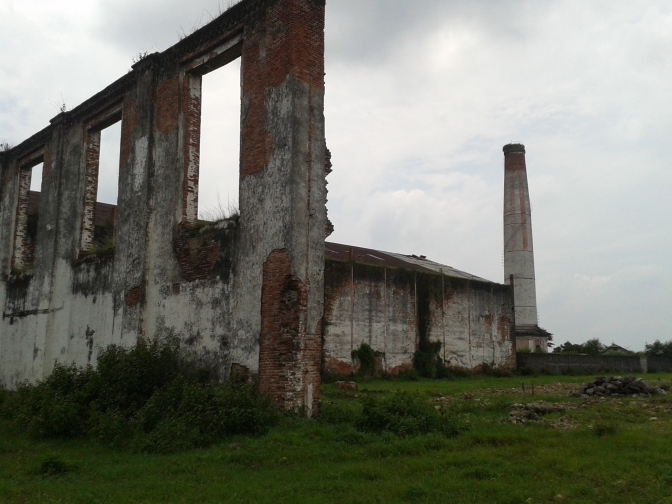Reruntuhan Pabrik Gula Djatiwangi.