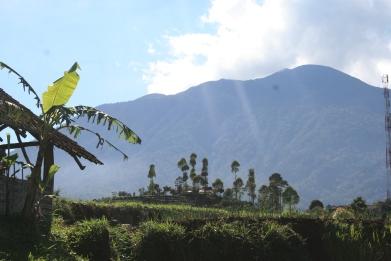 Panorama Gunung Ciremai