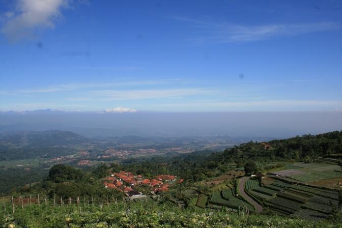 Panorama Lanskep yang bisa di lihat dari Argapura
